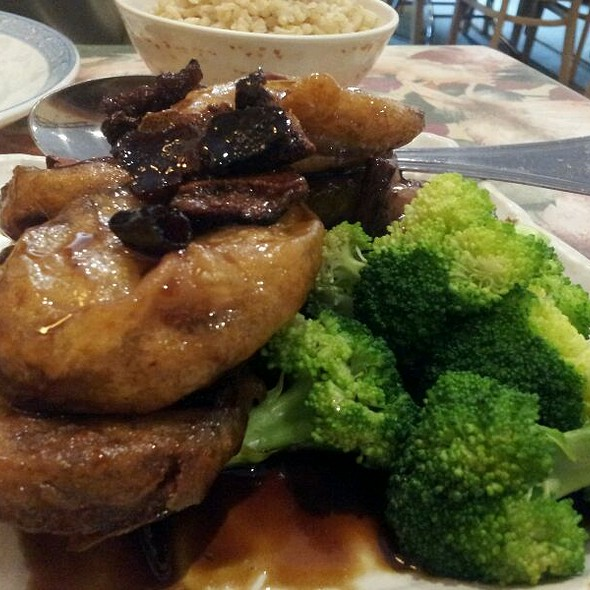 Crispy Eggplant @ Yuan Fu Vegetarian