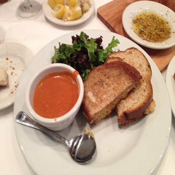 Lobster Melt With Tomato Bisque - Bistro 41, Fort Myers, FL
