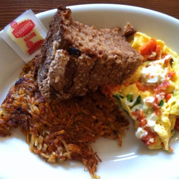 Smoked Salmon & Cream Cheese Omelette @ Coastal Kitchen