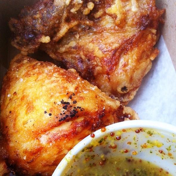 fried chicken @ Paulette's Original Donuts And Chicken