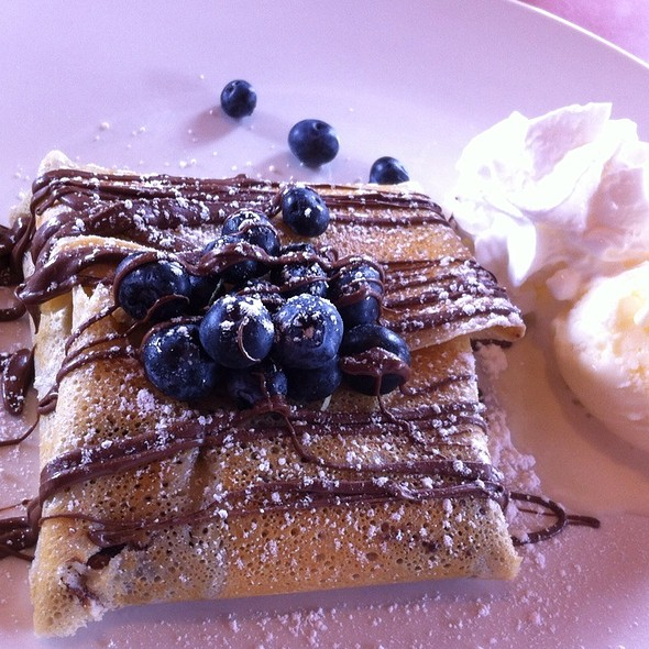 Iberries Blueberry Crepe