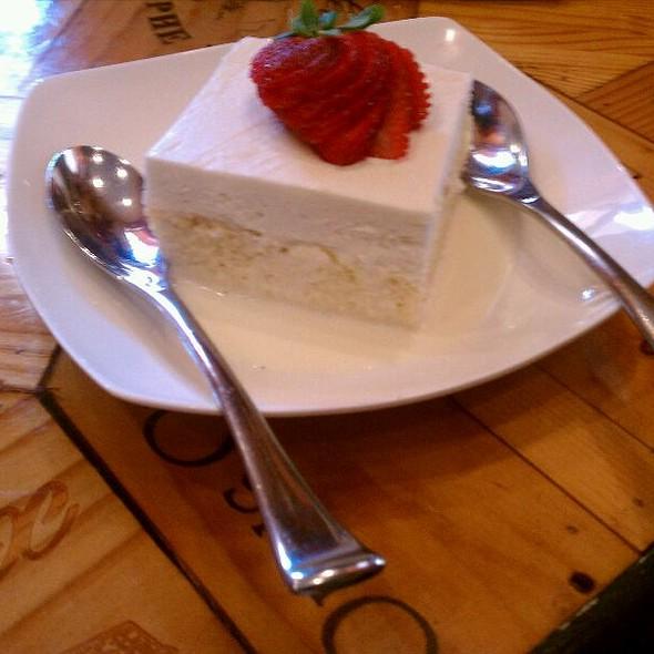 Tres Leches Cake - Ole Tapas Lounge & Restaurant, Newark, DE