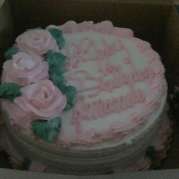 Custom Birthday Cake @ Tulipan Bakery-Cafe