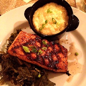 Sweet Tea Glazed Salmon