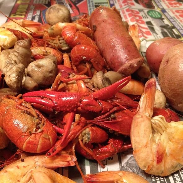 Seafood Boil @ Judi's Cajun Kitchen