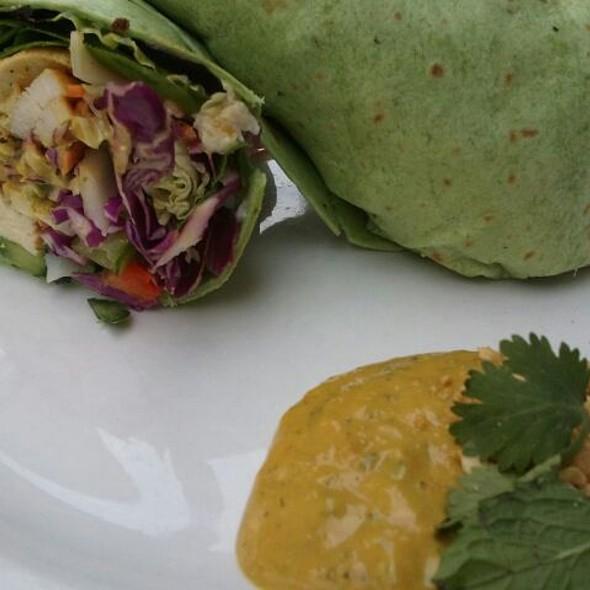 Thai Chicken Burrito @ Atlas Restaurant