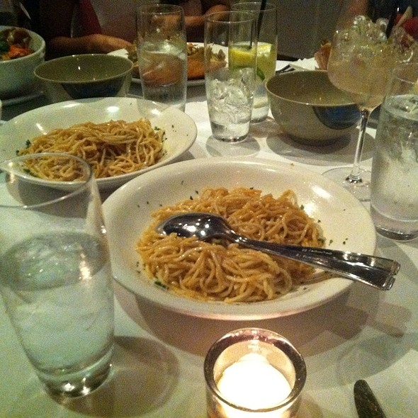 Garlic Noodles @ Crustacean Restaurant