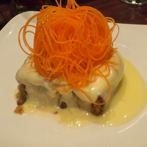 Carrot Cake @ Village Tavern