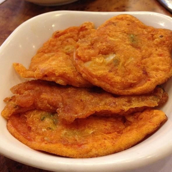 Sweet Potato Fritter @ Mu Jin Jang Korean BBQ Restaurant