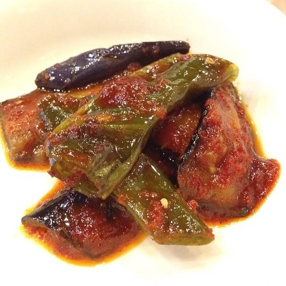 Spicy Pickled Brinjal @ Mu Jin Jang Korean BBQ Restaurant