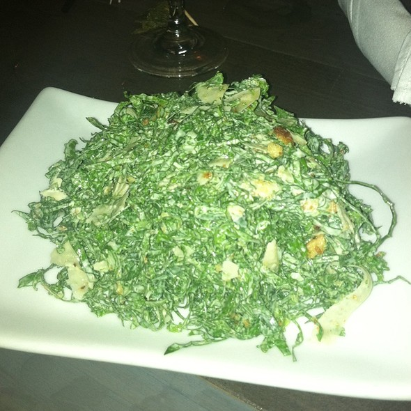 Kale Caesar Salad @ Salvation Cafe