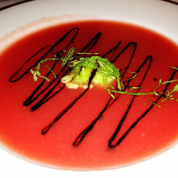 Watermelon Gazpacho - Blue Moon, Rehoboth Beach, DE
