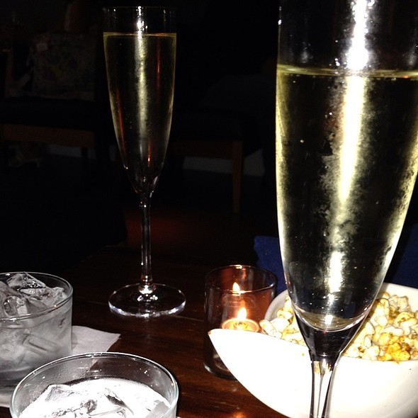 Prosecco And Spicy Popcorn