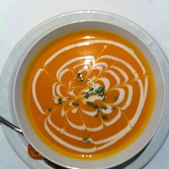 Butternut Squash Soup @ Cafe De La Presse