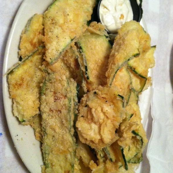 Fried Zucchini @ Italian Oven