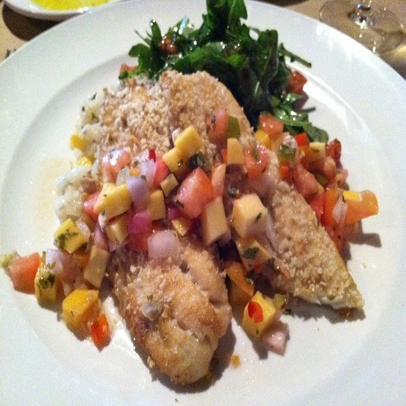 Roasted Pepita Crusted Tilapia - The People's Kitchen & Citizen Wine Bar, Worcester, MA