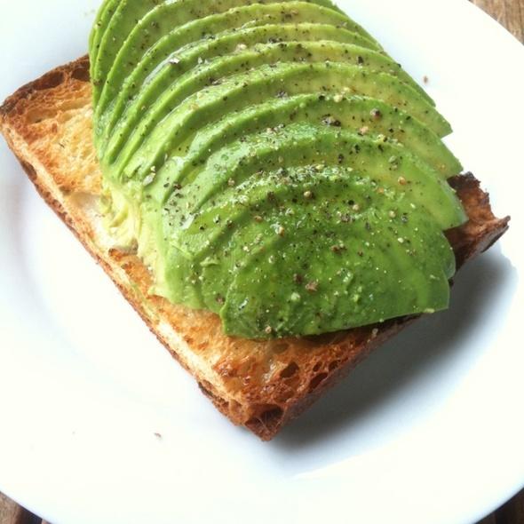Avocado Toast @ frog hollow farm