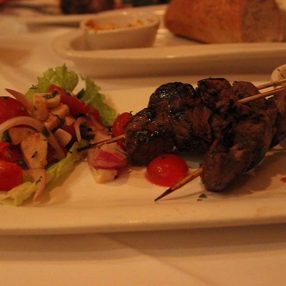 Filet Mignon Skewers - Fleming's Steakhouse - Newport Beach