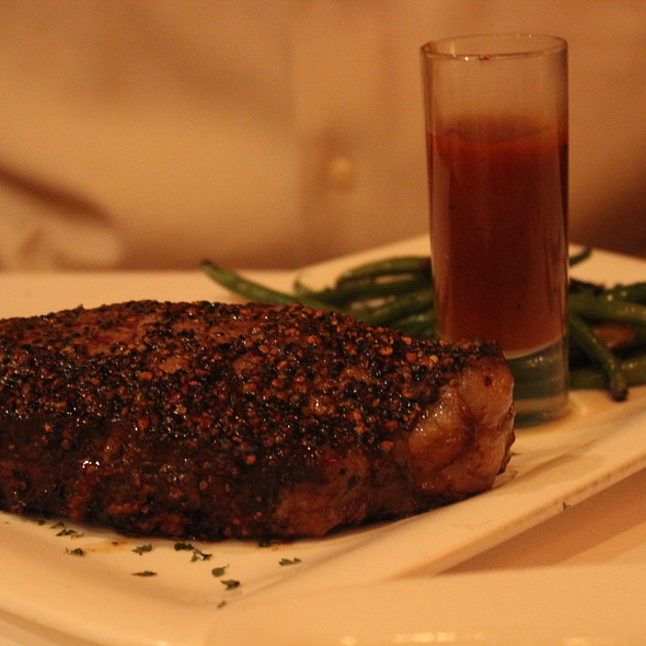 Peppercorn Steak - Fleming's Steakhouse - Newport Beach