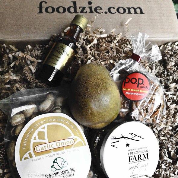 Foodzie's October Taste Box @ Foodzie