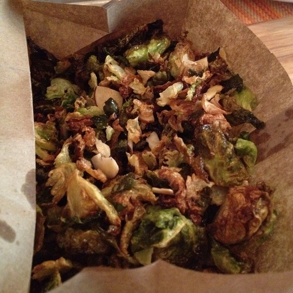 Crispy Brussel Sprouts @ Social Kitchen & Bar
