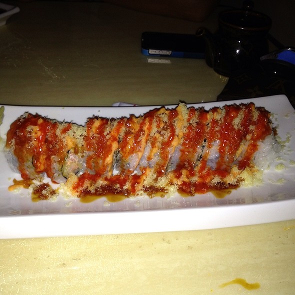 Crispy Crunch Roll @ Wabora Japanese Fusion Steakhouse