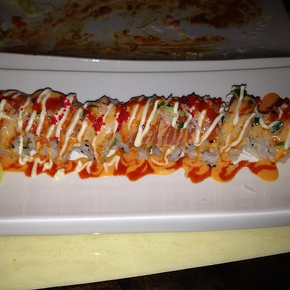 Hurricane Roll @ Wabora Japanese Fusion Steakhouse