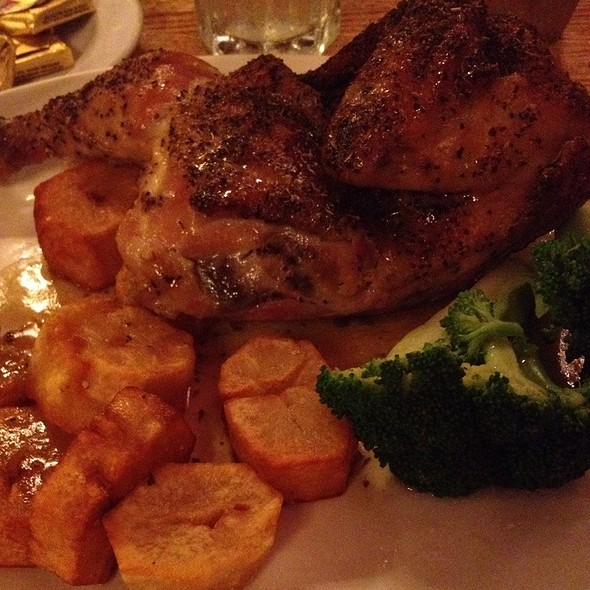 Greek Chicken With Potatoes And Broccoli @ Millrose Restaurant & Brewing Co