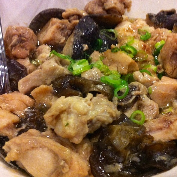 Steamed Chicken & Shiitake Mushroom at Steam Kitchen 蒸蒸日上