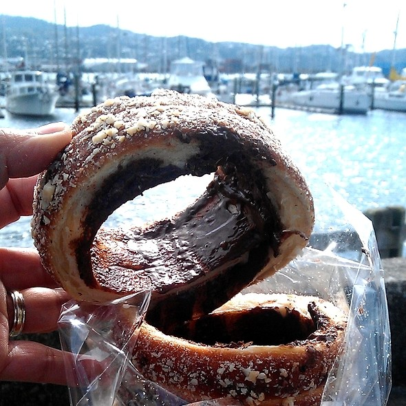 Hazelnut and Chocolate Chimney Cake @ Harbourside Market
