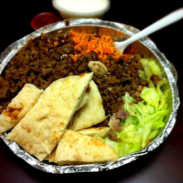 Halal food @ 53rd and 6th Halal Cart