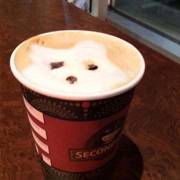 Vanilla Fudge Brownie Latte @ Second Cup