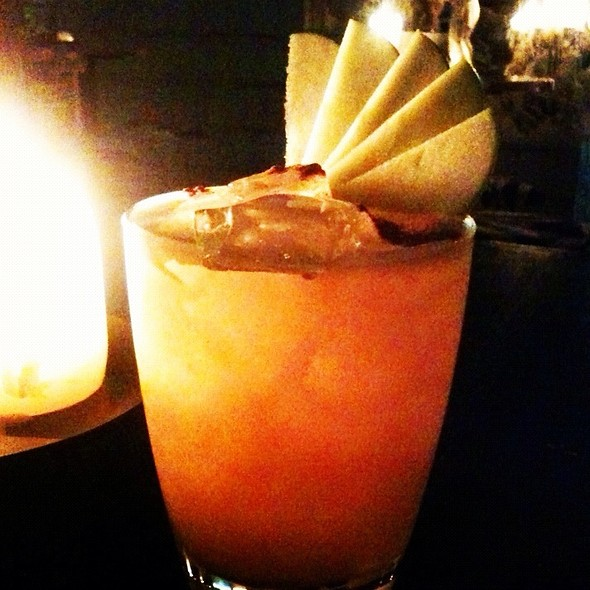 Apple And Cinnamon Sour Cocktail