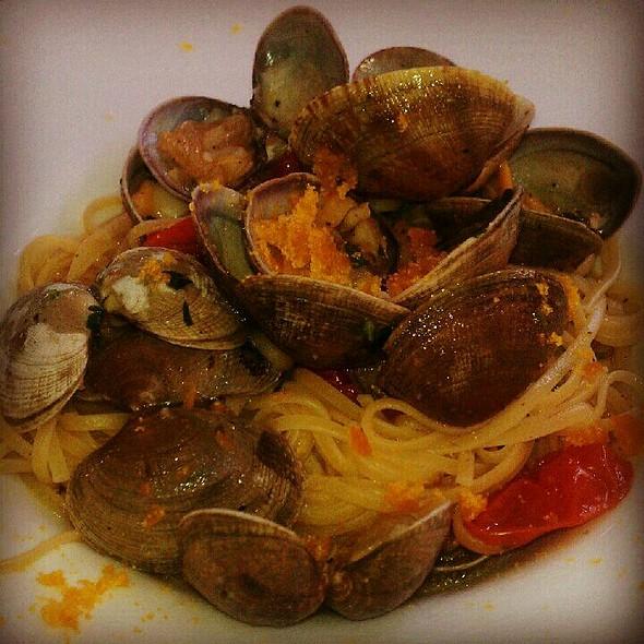 Linguini Vongole With Bottarga - Acqua Restaurant NYC, New York, NY