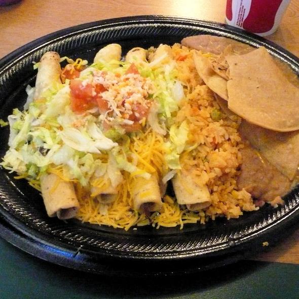 Beef Taquitos @ El Indio Mexican Restaurant