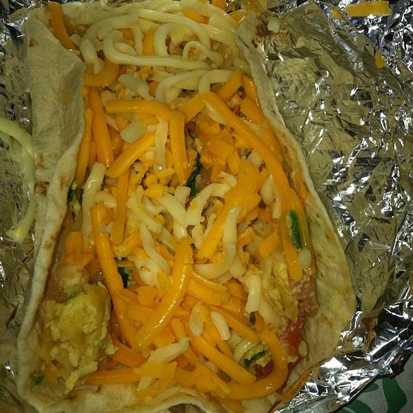 Migas Breakfast Taco @ Taco Joint