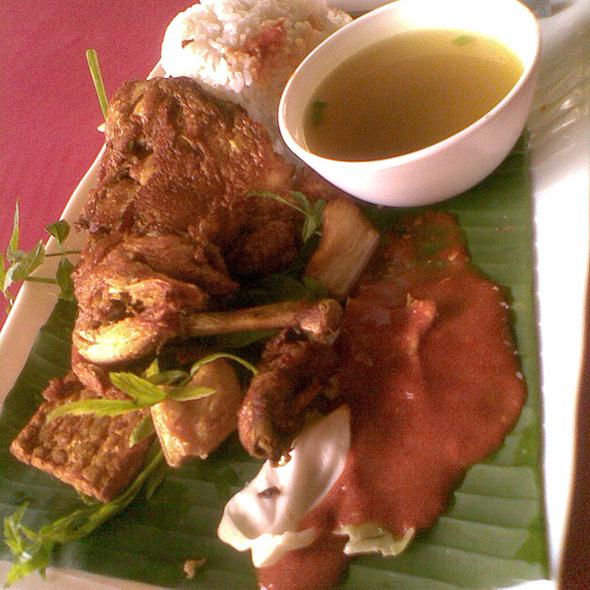 Nasi Ayam Penyet @ Cyberjaya Transport Terminal Food Court