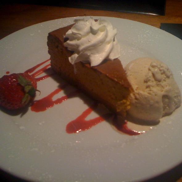 Pumpkin Cheesecake - Pranzo Italian Grill, Santa Fe, NM