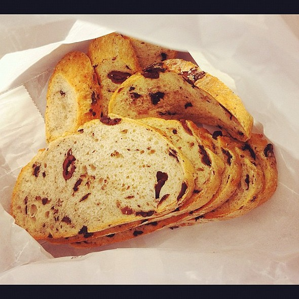 Incredible fresh olive bread from the most incredible store. @ June & Ho
