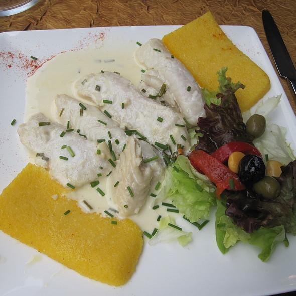 Filet de Meilu Bizantino, con Polenta @ La Petite Venise Ristorante