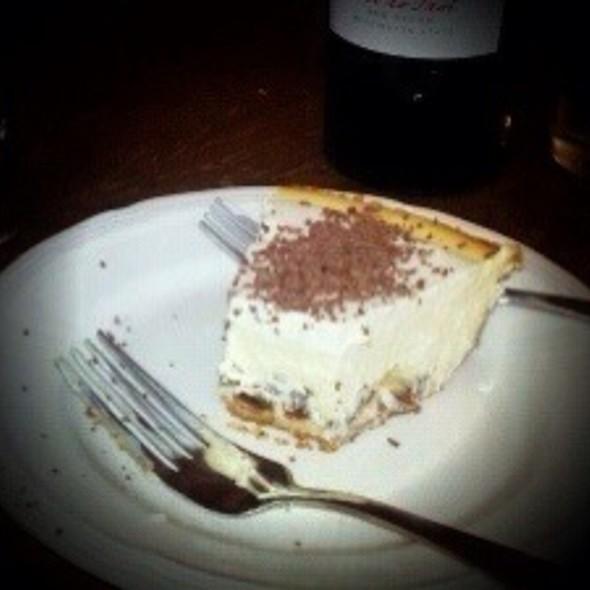 Rum Raisin Cheesecake @ Mark's Place