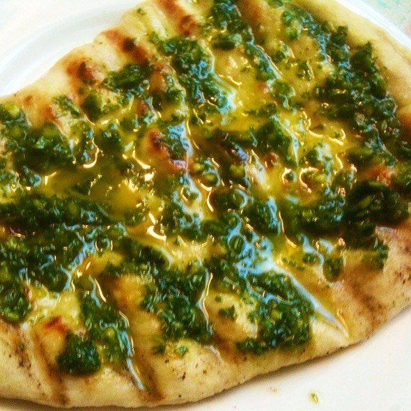 Grilled Flatbread @ Mark's Place