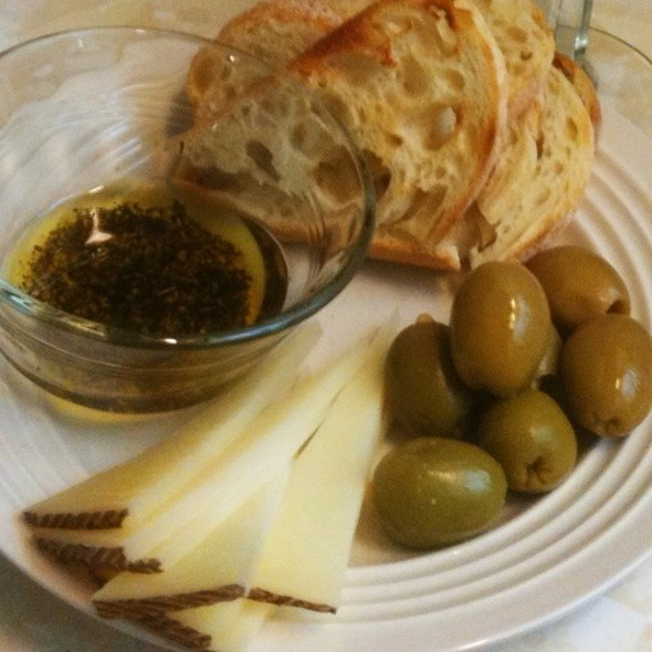 Manchego And Olives @ Mark's Place