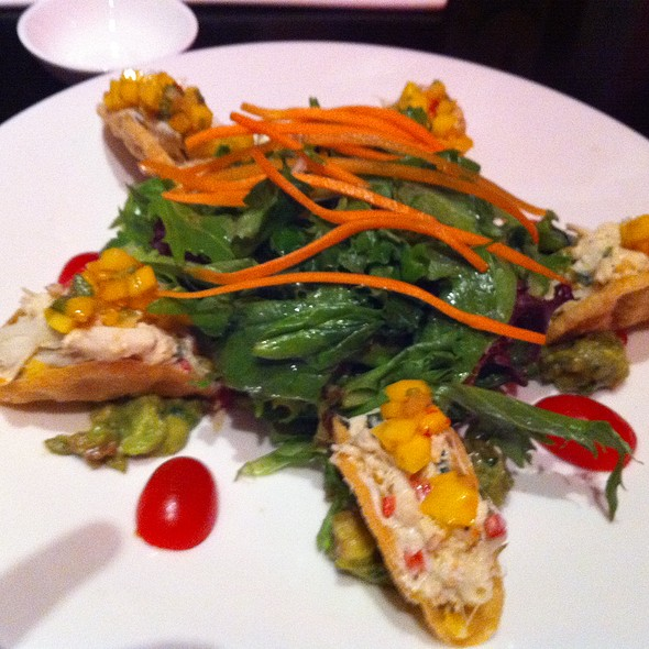 Crab Taco Salad @ Pure Resturant & Lounge