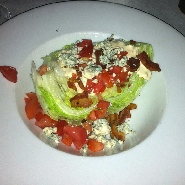 Iceberg Wedge Salad @ Witherspoon Grill