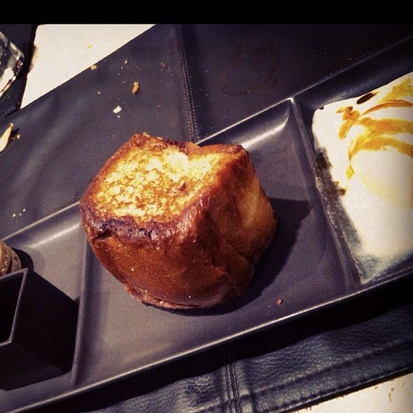 Pain Perdu With Ice Cream - Birks Café par Europea, Montr�al