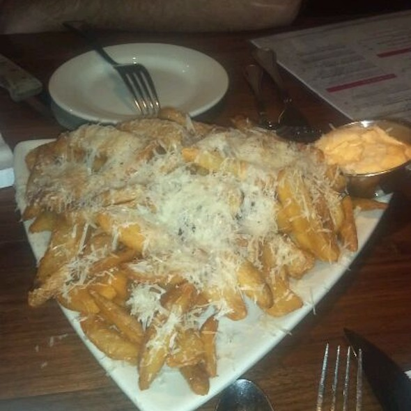 Parmesan Garlic Steak Fries @ Hollie's Flatiron Steakhouse