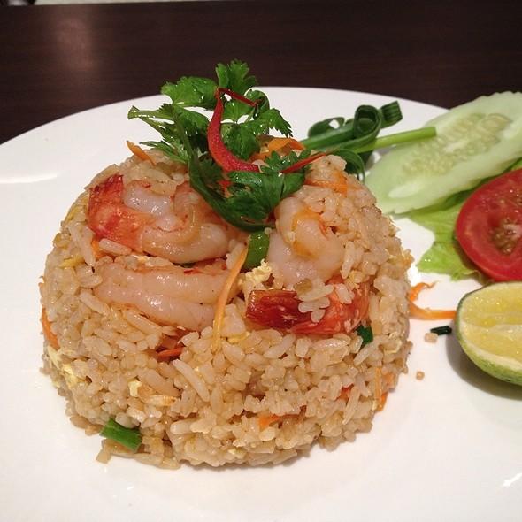 Thai Fried Rice With Prawns @ Absolute Thai