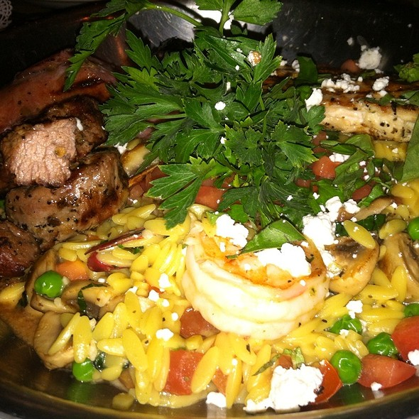 Greek Paella @ Ziziki's