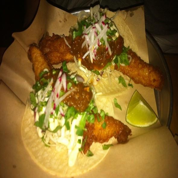 Baja Fish Taco @ The Grand Electric